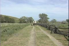 Whitman operaation katettu vaunu zoom Arkistovideo