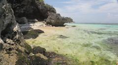 Caribian coast Stock Footage