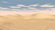 Side Desert Whizz 1080P Stock Footage