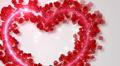 Heart Glitter 2 Rose EF2 HD Footage