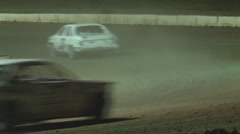 Colorado dirt track racing - Hornets fail corner Stock Footage