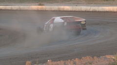 Colorado dirt track racing - IMCA Modified Stock Footage