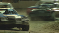 Colorado dirt track racing - Stock Cars Stock Footage