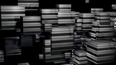 Cube1 full Stock Footage