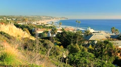 MALIBU COASTLINE 2 - stock footage