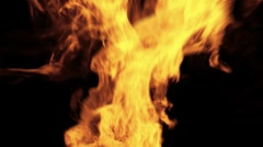 Blazing Fire - stock footage