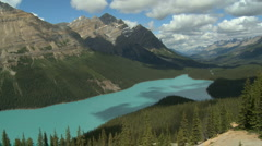 Peyto Lake TL 01 Stock Footage