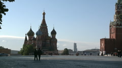 SAINT BASIL RED SQUARE Stock Footage