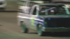 Colorado dirt track racing - Hobby Trucks Stock Footage