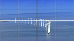 Clean Renewable Power & Energy Montage Stock Footage