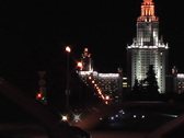 Night traffic. Stock Footage