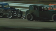 Stock Video Footage of Colorado dirt track racing - Dwarf Cars