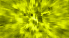Yellow blur light rays,computer web background,tech energy,debris,particle,symbo Stock Footage