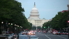 U.S. Capital Building Stock Footage