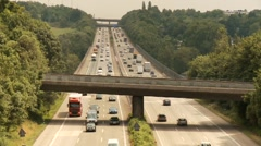 Highway, Cars, Fast Stock Footage