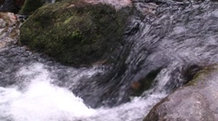 Shallow Waterfall Stock Footage