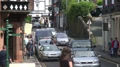 Ambleside Traffic Stock Footage