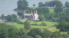 Manor House in Lake District Stock Footage