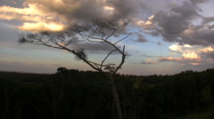 Cooroy Mountain Sunset v2 Stock Footage