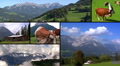 austria alps montage HD Footage