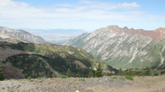 Canyon View Pan HD949 Stock Footage