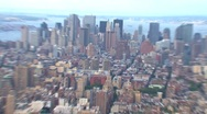 Stock Video Footage of View from the Empire State Building