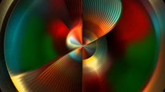 Colorful lines - stock footage