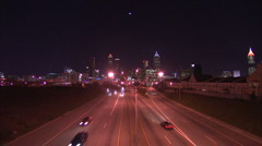 Atlanta from a distance Stock Footage