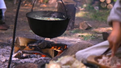 cooking - stock footage