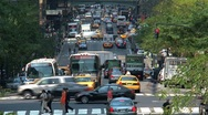 Stock Video Footage of Busy street New York City