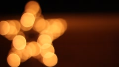 Christmas Star Stock Footage