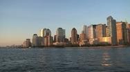 Stock Video Footage of New York City Skyline