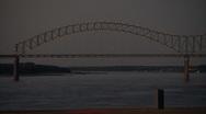 Hernando DeSoto bridge Stock Footage