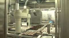 Biscuit manufacturer Wernli AG 21 Stock Footage