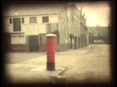 Stock Video Footage of Retro Cine - Red Mail Box