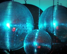 Disco Balls 3 Stock Footage