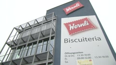 Biscuit manufacturer Wernli AG 44 - stock footage