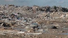 Garbage - stock footage