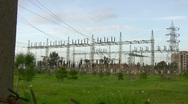 Power Substation  Stock Footage