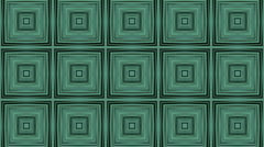 3d abstract rectangle array flooring bricks,square tiles wall background. Stock Footage