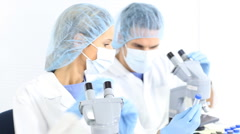 Laboratory Stock Footage