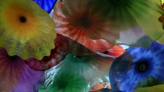 Blown glass art zoom out V2 - HD Stock Footage