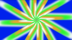 Abstract whirl gear flower pattern light space windmill energy background. Stock Footage