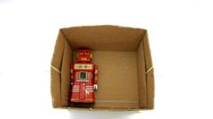 Tin box toys 1 Stock Footage