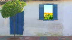 Traditional Turkish village house 5 Stock Footage