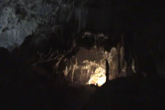 Stock Video Footage of Cave