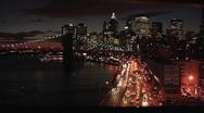 Manhattan, New York City Time Lapse  Stock Footage