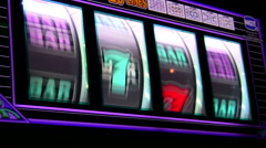 Slot machines V5 - HD Stock Footage