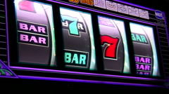 Slot machines V2 - HD - stock footage
