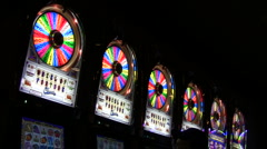 Wheel of fortune slots - HD - stock footage